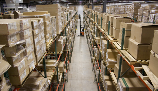 RFID solution for the forklift warehouse management